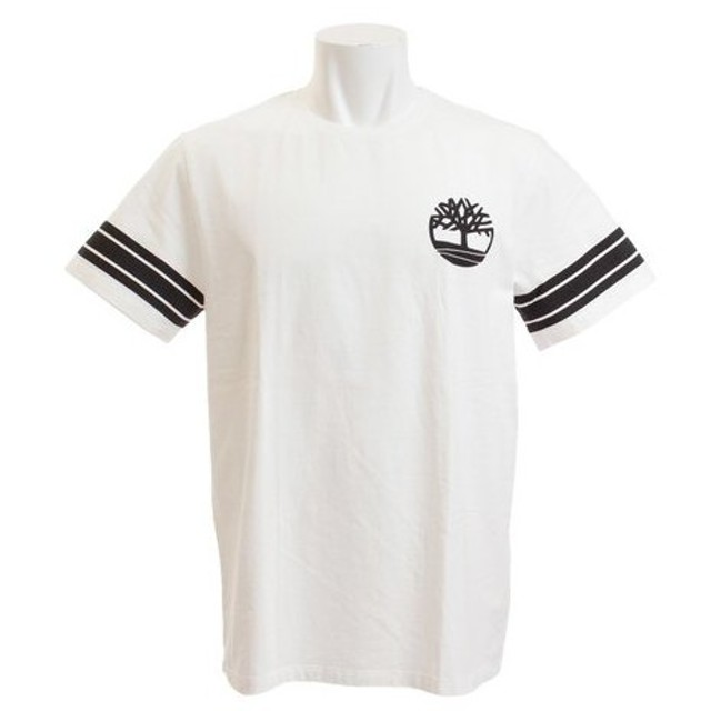 ティンバーランド(Timberland) オーバーサイズド ロゴTシャツ A1T7T100 WHT (Men's)