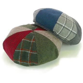 ベレー帽 - Smart Hat Factry <秋冬新作>8パネルクレイジーパターンベレー レディース 帽子