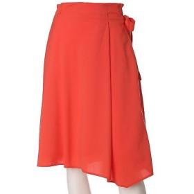 ef-de L / エフデ(エルサイズ) 《ef-de》ラップ風ミモレ丈スカート