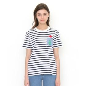 [マルイ] 【ユニセックス】コラボレーションボーダーTシャツ/五味太郎(きんぎょがにげた金魚鉢)/グラニフ(graniph)
