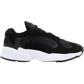 《セール開催中》ADIDAS ORIGINALS レディース スニーカー&テニスシューズ(ローカット) ブラック 4.5 紡績繊維 / 革 YUNG-1