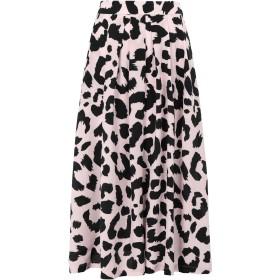 《セール開催中》TRE CCILE レディース 7分丈スカート ピンク XS シルク 100% LEOPARD AMELIE SKIRT