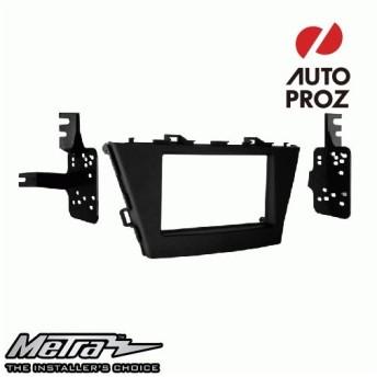 METRA 正規品 トヨタ プリウスV 2012年以降現行 ダブルDIN オーディオ取り付けキット/ダッシュキット マットブラック