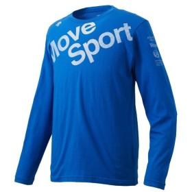 DESCENTE(デサント)メンズスポーツウェア 長袖機能Tシャツ デオダッシュコットン 長袖Tシャツ DMMNJB53 BL メンズ BL