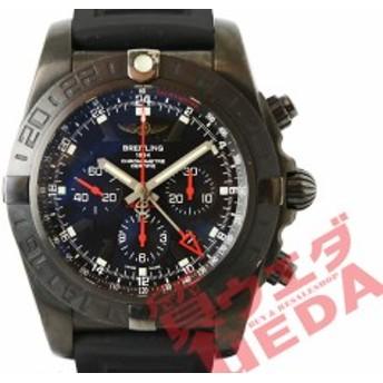 【栄】【値下げ】国内正規 ブライトリング クロノマットGMT MB041310 ブラックスチール 世界限定1000本 ラバー メンズ 男 腕時計