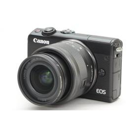 [中古] Canon ミラーレスカメラ EOS M100 EF-M15-45 IS STM レンズキット ブラック 2209C014