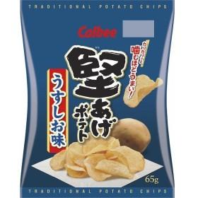 カルビー 堅あげポテトうすしお味 65g まとめ買い(×12)|4901330910549(dc)