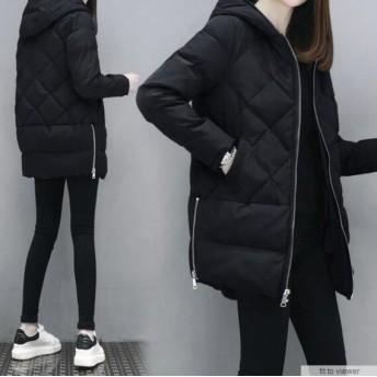 ★送料無料★冬の必需品 上品なダウンコート レディース ダウン綿コート Aライン 軽い ダウンジャケット 大きいサイズ レディース 上品