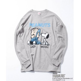 URBAN RESEARCH / アーバンリサーチ VOTE MAKE NEW CLOTHES LINUS & SNOOPY LS T-SHIRTS