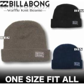 BILLABONG ビラボン メンズ ワッフル編み ニット キャップ ビーニー 帽子 アウトレット AH012-938