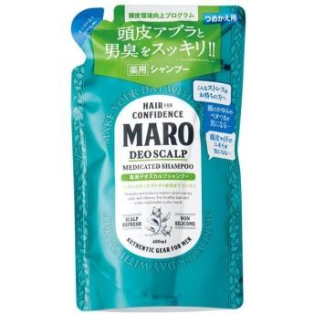 NLB MARO 薬用デオスカルプシャプー 詰替え 400ml|4582469490845(tc)