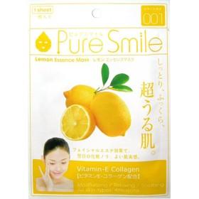 ピュアスマイル エッセンスマスク 001 レモン (1枚入)