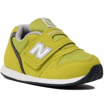 ニューバランス(New Balance) キッズ シューズ イエロー IV996 CTG 【ジュニア スニーカー 靴 カジュアルシューズ 運動靴】