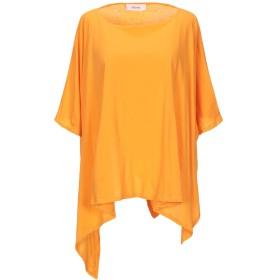 《9/20まで! 限定セール開催中》JUCCA レディース T シャツ オレンジ M コットン 100%