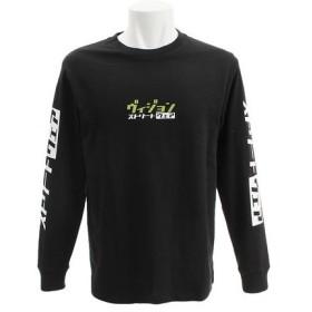 VISION カタカナロゴ 長袖Tシャツ 9323142-01BLK (Men's)