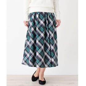 grove / グローブ 【WEB限定サイズあり】チェック柄ロングスカート