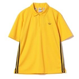 adidas / メッシュ ポロシャツ メンズ ポロシャツ ボールドゴールド/ブラック J/M