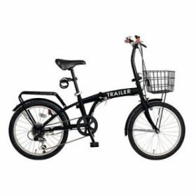 20インチ折りたたみ自転車 GF-F20-BK