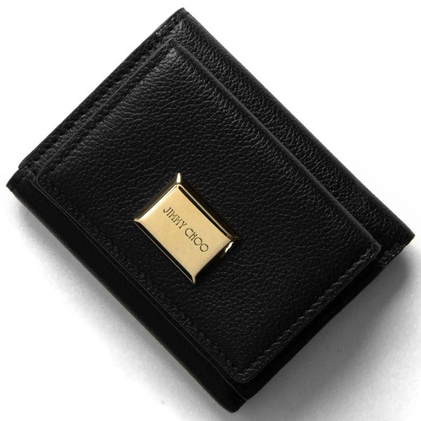 best service 52cff 0e48f レザー BALENCIAGA 516402 DLQ4N 1000 EVERYDAY L MINI WALLET ...