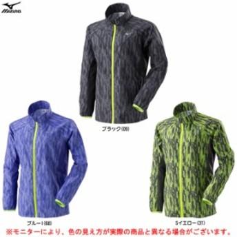 MIZUNO(ミズノ)ウィンドブレーカーシャツ(J2ME7710)トレーニング ランニング カジュアル アウター ウェア レディース