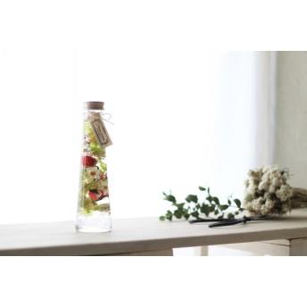 【ミンネ本掲載】*新タイプアイスハーバリウムFlower Cocktail/Small Taper ver.01 名入れOK