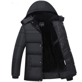 中綿ジャケット メンズ 大きいサイズ モッズコート ミリタリーコート ボア 裏ボア ブルゾン アウター 防寒 防風 中綿入りジャケット メンズファッション 父の日