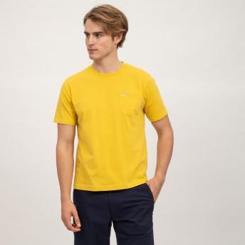 AIGLE メンズ メンズ 吸水速乾 ポケット 半袖Tシャツ ZTH037J SUNSHINE (142) Tシャツ