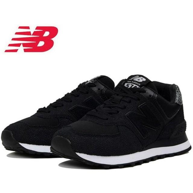 new balance ニューバランス WL574 UJC BLACK 【ワイズ:B】 WL574UJC 【スニーカー/シューズ/アウトドア/レディース/日本正規品】