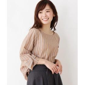 SOUP(スープ) 【WEB限定サイズあり】Jeunne garcon 袖リボンステップドヘムシャツ