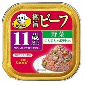 日本ペット ビタワングー 11歳以上 ビーフ野菜 100g ドッグフード|4902112012987(tc)