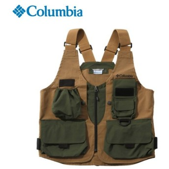 コロンビア ベスト メンズ グリーンパインズ VS PM4963 258 Columbia