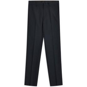 《期間限定セール開催中!》TOPMAN メンズ パンツ ダークブルー 28 ポリエステル 66% / レーヨン 34% Navy Textured Skinny Fit Suit Trousers