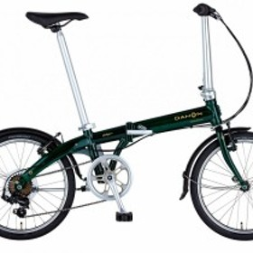 折りたたみ自転車 DAHON 20インチ 外装7段変速ギア Vybe D7 ヴァイブ ダホン 軽量 コンパクト ブリティッシュグリーン
