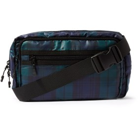 《期間限定 セール開催中》TOPMAN メンズ バックパック&ヒップバッグ グリーン ポリエステル 100% Black Watch Nylon Cross Body Bag