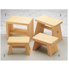 ヤマコー 商品コード:ZHL01   桧風呂椅子(中)