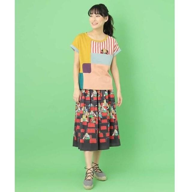 Jocomomola / ホコモモラ CINE 映画館プリントスカート