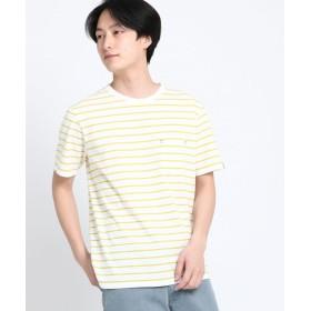THE SHOP TK(Men)(ザ ショップ ティーケー(メンズ)) 【抗菌防臭】ポリジンクルーネックTシャツ