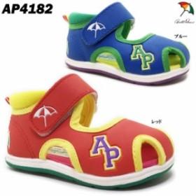 アーノルドパーマー AP4182 ベビーサンダル ベビーシューズ 靴 子供用 ベルクロタイプ 軽量 伸縮性 屈曲性 男の子 女の子