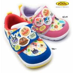 アンパンマン APM B19 ベビーシューズ 靴 スニーカー ジョギング マジックテープ フレックスジョイント カップインソール 幼稚園 保育所