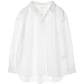 【オンワード】 koe(コエ) ・40キャンブリックスキッパ-シャツ White M レディース 【送料無料】