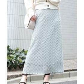 ★【WEB限定】レースロングスカート