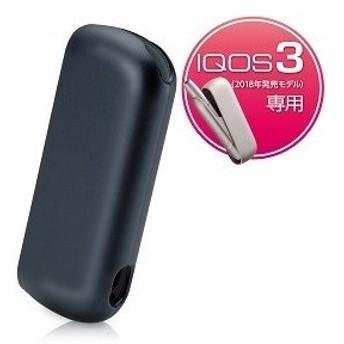 エレコム IQOS 3用 極みハードカバー(ブラック) ET-IQ3PV1BK 返品種別A