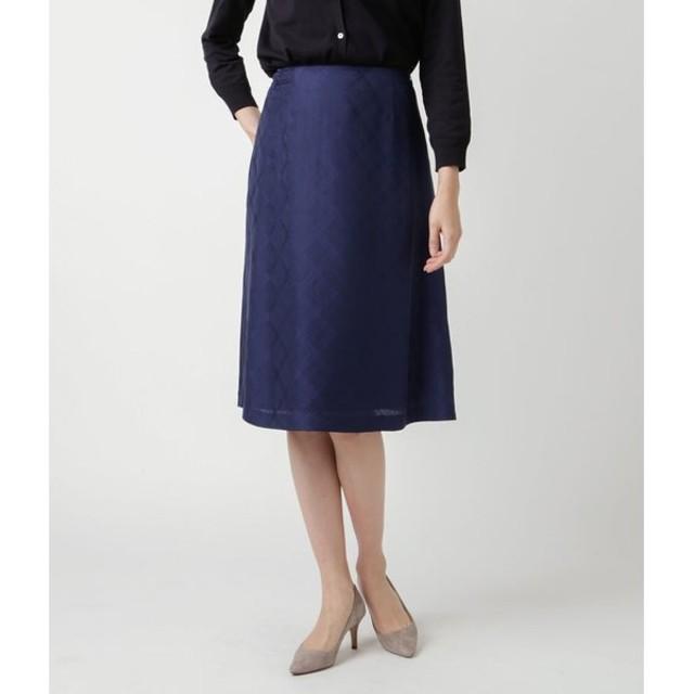 NEWYORKER / 【店舗限定】チェックジャカード フレアスカート