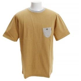 クリフメイヤー(KRIFF MAYER) カラー杢トリム風Tシャツ 1815110-2-YEL (Men's)