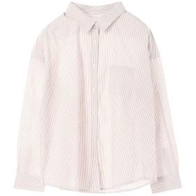 【オンワード】 koe(コエ) ・40キャンブリックベ-シックリラックスシャツ Stripe M レディース 【送料無料】