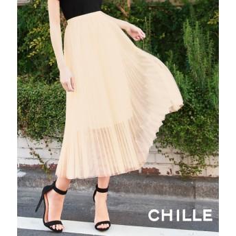 【セール開催中】ANAP(アナップ)チュールプリーツスカート