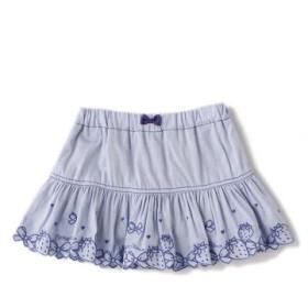 メゾ ピアノ/裾スカラップインナーパンツつきスカート