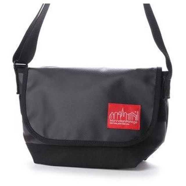 マンハッタンポーテージ Manhattan Portage Matte Vinyl Casual Messnger Bag JR (Black)