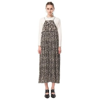 CLANE / TAPESTRY FLOWER PLEATS ONEPIECE