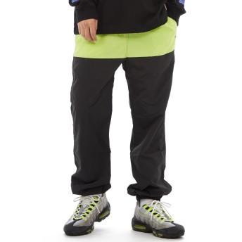 ジョガーパンツ - improves ナイロン パンツ ストリート ナイロンパンツ メンズ レディース シャカシャカ ジョガーパンツ セットアップ 上下 可能トラックパンツ ダンス スリム ジャージ ブラック イエロー 黒 ストリート系 ストリートファッション メンズファッション